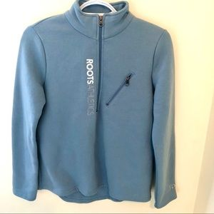 Roots Athletics Pullover Sweatshirt With Zipper
